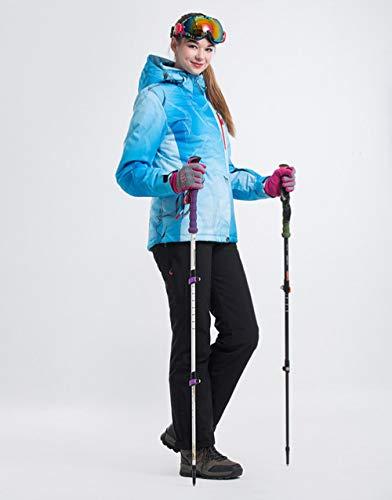 ski pak JSGJHXFLANLAKA NIEUW Merk Ski Suit Vrouwen Snowboarden jassen Broeken Warm Sneeuw Jas Ademende Optionele Kleurrijke Ski Sets Vrouw