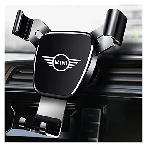 lifmagic Car Phone Holder Dashboard Mount Stand Cell Phone Holder GPS Fit for BMW Mini Cooper R56 R55 R60 R61 Countryman F55 Auto Accessories (Color : Black)