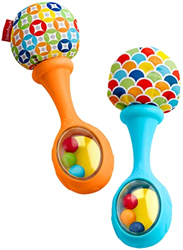 baby toys, baby christmas gift, fisher price rattle n rock maracas, colorful maracas, baby musical instruments