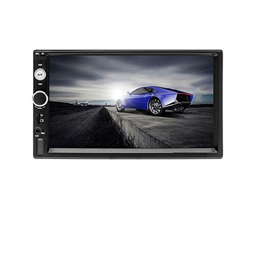 ZYHZP Autoradio 7' USB Autoradio Multimedia Player MP5 Auto Car Audio Autoradio Bluetooth Monitor Backup 2DIN Radio Auto (Color : 7023B No Camera)