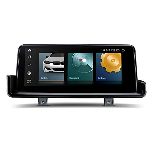 XTRONS Android 10 Autoradio Radio mit FÜR BMW 3 Serien E90 E91 E92 E93 LinkslenkungNavi Unterstützt Qualcomm Bluetooth 5.0 CarAutoPlay TPMS DAB + Android Auto WiFi 4G USB