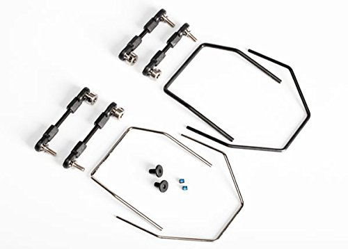 Traxxas XO-1 Sway Bar Kit Includes Front and Rear Sway Bars and Linkages