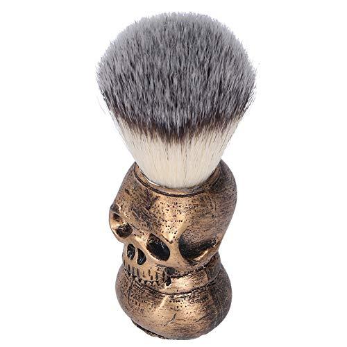 Brocha de afeitar para hombres, espuma de afeitar, limpieza facial, brocha de afeitar, cepillo para barba, para uso en el salón, para uso familiar y de viaje