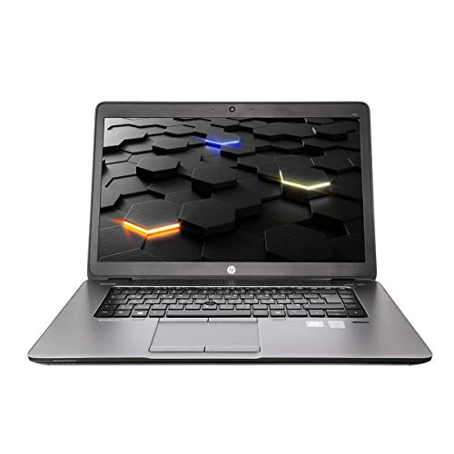 HP EliteBook 850 G1 i5- 4200U, 1,6 Ghz CPU, 8 GB RAM 15 Zoll, 1920 x 1080 Pixel Auflösung,500 GB HDD, Windows 10 Professional (Zertifiziert und Generalüberholt)