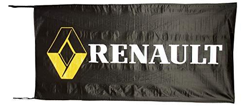 Cyn Flags Renault SCHWARZ Fahne Flagge 2.5x5 ft 150 x 75 cm