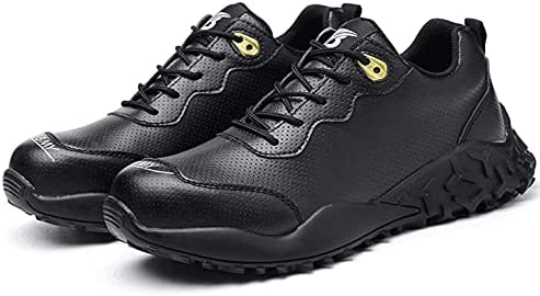 Men'S Safety Shoes Can Not Touch Steel-Toed Sneakers Work Shoe House Tough Shoes