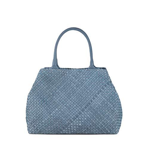 Tosca Blu Shopping bag Betulla, Unica, Azzurro