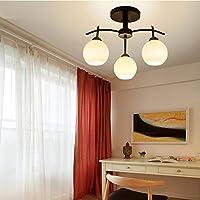 3 ライト 現代の シャンデリア ベッドルーム用 リビング ルーム 産業 ヴィンテージ ペンダントライト 天井照明 照明器具 クリエイティブ 装飾 吊り下げライト 3つのライト