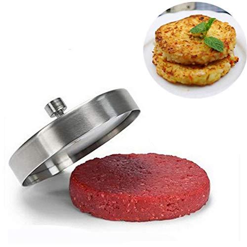 QXM Creatieve gevulde hamburgerpers vorm roestvrij staal BBQ grill keuken gereedschap