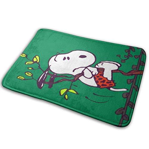 NA Zerbino Antiscivolo Vello di Corallo Coperta per Esterni Bagno Cucina Tappetino Porta d ingresso Tappetino Snoopy-Cartoon-Wallpaper-Tablet