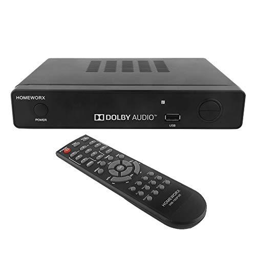 Mediasonic HW-150PVR ATSC Digital Converter Box w/ TV Recording, Media Player, and TV Tuner Function