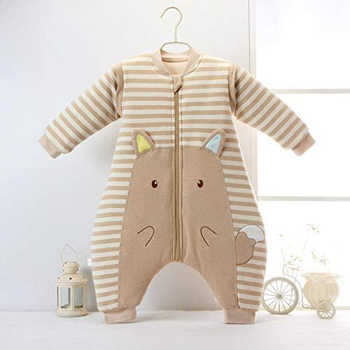 Otoño invierno bebé anti-patada color algodón bebé