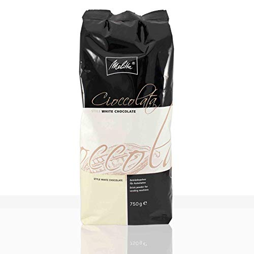 Melitta Cioccolata White Chocolate 750g, weiße Instant-Schokolade