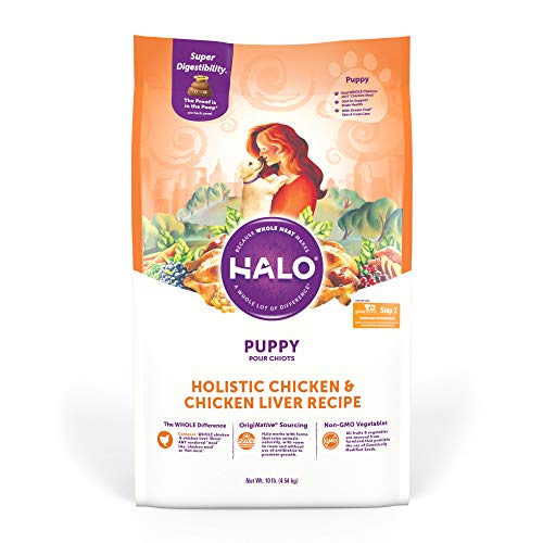 Halo Natural Dry Dog Food - Puppy Recipe - Premium...