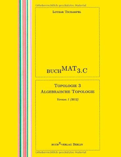 BuchMat 3.C Topologie 3. Algebraische Topologie