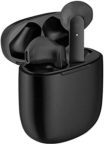 Cuffie Bluetooth 5.0, Auricolari Bluetooth Sport Wireless Stereo Auricolari nell orecchio con custodia di ricarica Microfono Hi-Fi,Pop-up Associazione Automatica,per Android iPhone Huawei Nero