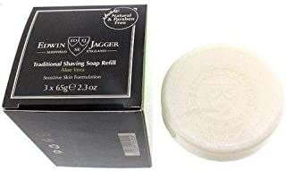 Edwin Jagger Shaving Soap Refill, Aloe Vera, 3-Pack