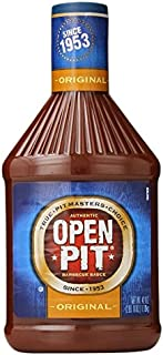 Open Pit Barbecue Sauce, Original, 42 Ounce