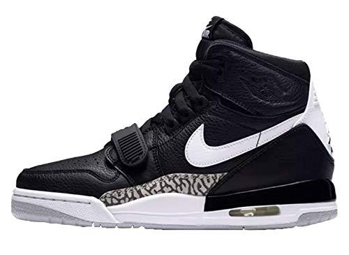 Nike Kids Air Jordan Legacy 312 Basketball Sneaker (Black/White, 6.5 Big Kid)