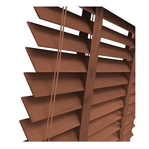 ZEMIN Jalousien Bambusrollo Sichtschutz Fenster Vorhang Horizontal, Brandschutz Trennwand Schlafzimmer, Multi-Size Anpassbare (Color : A, Size : 85cmx150cm)