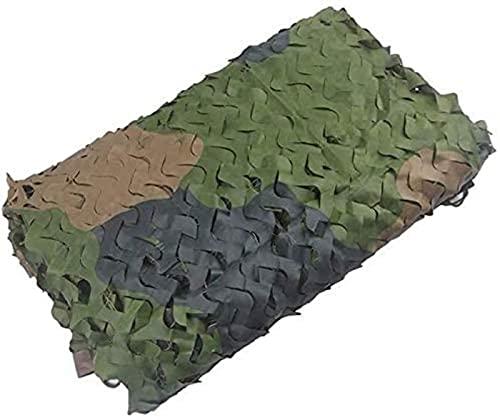 Red del camuflaje, red del camuflaje de los toldos usada para la decoración de la tienda del toldo que acampa de los niños |Tela Oxford de protección solar |(Tamaño: 9x10 m (29,5 * 32,8 pies))