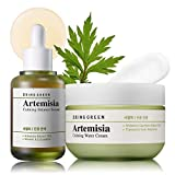 Serum : The Artemisia Calming Intensive Serum is effective to calm and soothe irritated skin. Consisting of Artemisia 70% and derma-clera 2% ingredient, it helps for the soft, thin and sensitive skin. Cream : The cream contains 54% of artemisia extra...