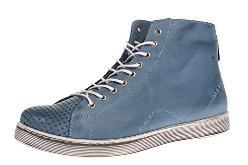 Andrea Conti Damen 0345728 Sneaker, bleu, 38 EU