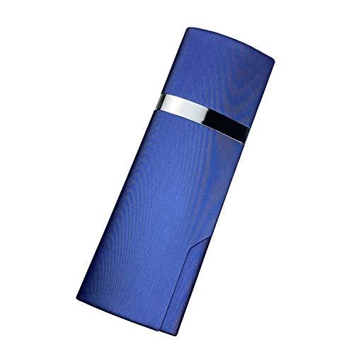 プルームテック プラス ケース (ブルー) PloomTech Plus カバー スリム シンプル 無地 コンパクト キャリングケース