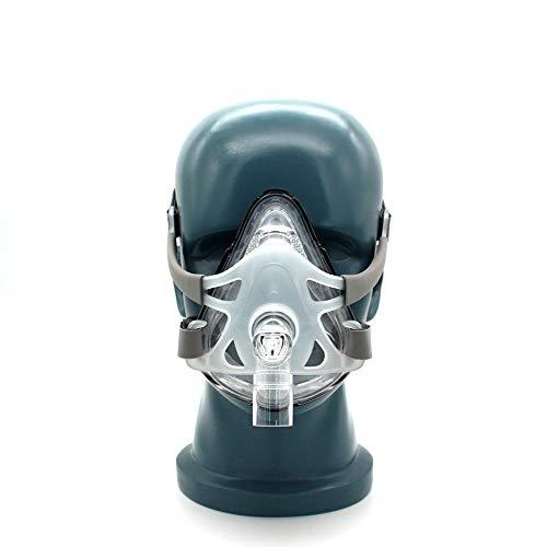 Neusmasker voor anti-snurken, slaaptherapie Maat SML Verbind gezicht en slang met hoofdbandclips,M