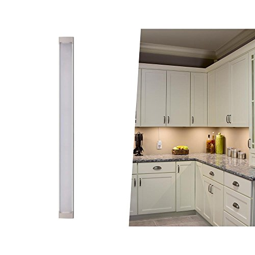 BLACK+DECKER LEDUC9-1WK LED Under Cabinet Kit with Motion Sensor, Dimmable Kitchen Accent Lighting, Tool-Free Install, Warm White 2700k, 9