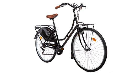 Moma Bikes Bicicleta Paseo HOLANDA 28', SHIMANO 6V. Sillin Confort