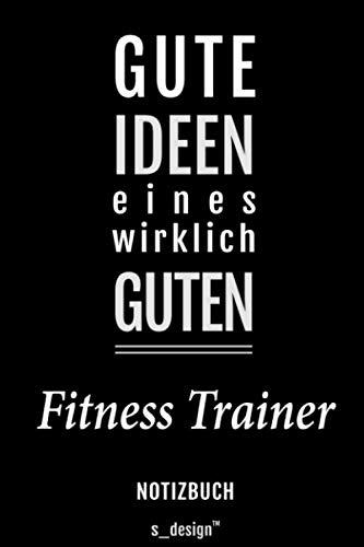 Notizbuch für Fitness Trainer: Originelle Geschenk-Idee [120 Seiten gepunktet Punkte-Raster blanko Papier]
