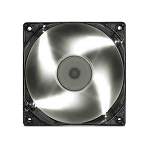 LKK-KK 2 unids Blanco 120x120x25mm Minería Minero LED Ventilador de enfriamiento 40 cm Cable para Eth BTC Ethereum
