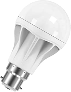 Osram LED Value Clasics A Frosted LED lamps - (9.5w) Pin - Base B22, 760 lm-Warm /3000k, White, OPARATH-9.5W/W/F/P