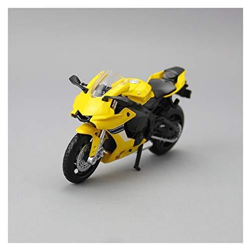 GXJU Juguete Modelo de Motocicleta a Escala 1:18 para YZF-R1 Scale Motory Model Super Racing Diecast Toy Motorbike Colección Educativa Regalo para Niños (Color : 1)