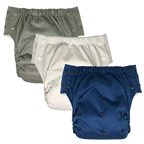 Product Image of the Hybrid Cloth Diaper - Reusable Training Pants or Reusable Swim Diaper, Newborn...