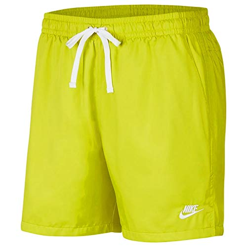 Nike Herren AR2382-308 Boardshorts, Bright Cactus/White, L