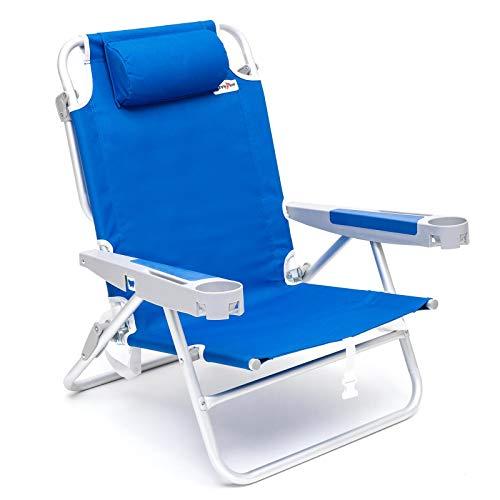 Best aluminum backpack beach chairs