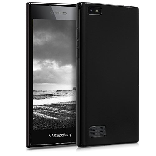 kwmobile BlackBerry Leap Hülle - Handyhülle für BlackBerry Leap - Handy Case in Schwarz matt