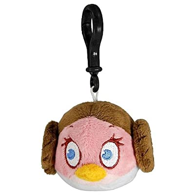 Angry Birds Star Wars Plush Backpack Clip Leia