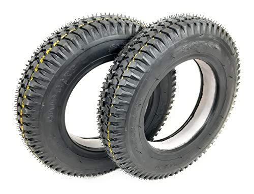 2 x 3,00-8 negro bloque sólido banda de rodadura neumático de Scooter para personas con movilidad reducida (Good Care) 300 x 8# nuevo