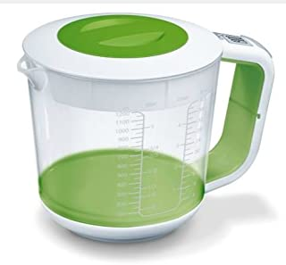 ultimatesalestore Jug Scale 3 in 1 Function Electronic Jug Scale With a 1.2 Litre Capacity