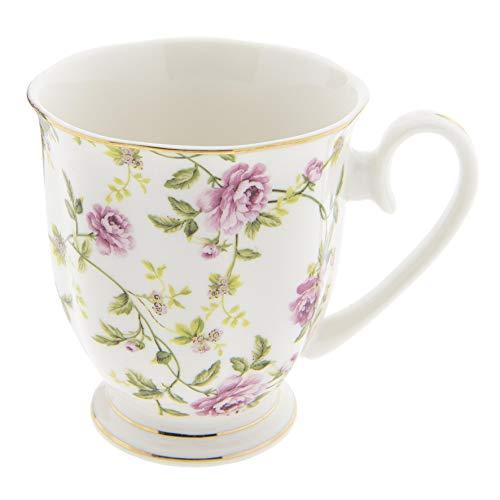 Clayre & Eef 6CE0838 Becher 11x8x9 cm Kaffeetasse Teetasse Vintage