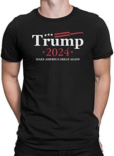 Donald Trump for President 2024 Men s T Shirt Medium Black product image
