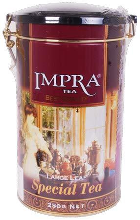 IMPRA Ceylon Special Tea aus Sri Lanka,3er Pack Schwarze Tee großblättrig in Dose (3x 250g)