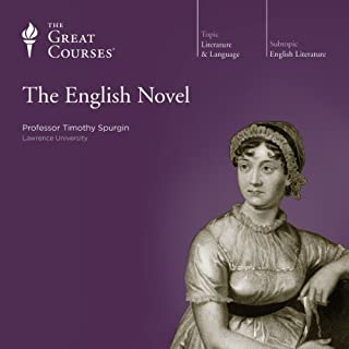 The English Novel audiobook cover art