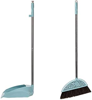 LF- Broom Combination Household Living Room Sweeping Floor Cleaning Kitchen Cleaning Tools Broom 簸箕 Set Combination Thicke...