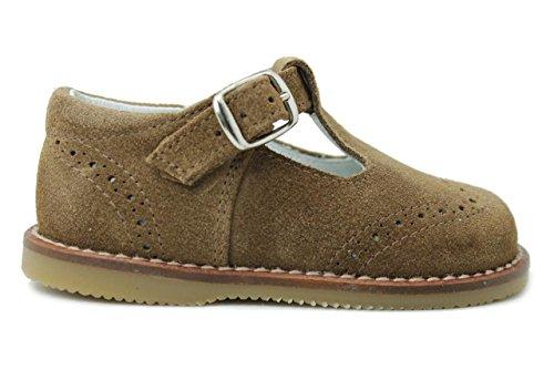 Zapato para niña - Marrón