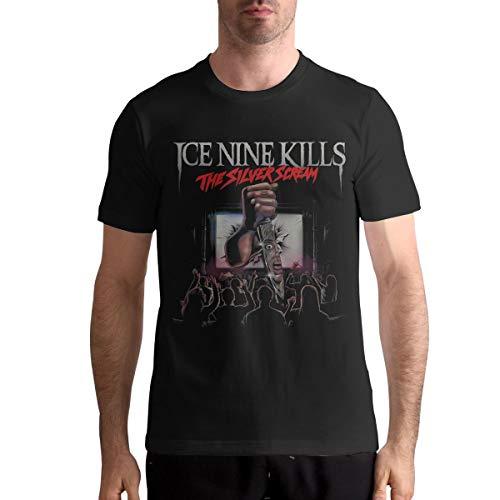 Ice Nine Kills Shirt Men T-Shirt Casual Classic Short Sleeve Tops XL Black