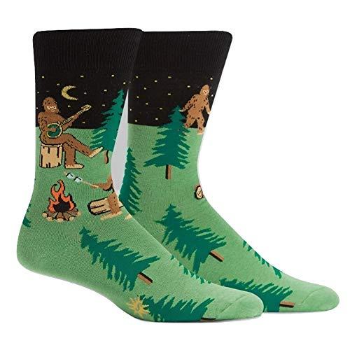 Sock it to me - Unisex Motivsocken Outdoor Camp, Camper, Sasquatch Camp out Gr.42-47 One Size